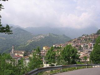 Gorno Comune in Lombardy, Italy