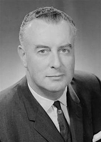 1969 Australian federal election - Image: Gough Whitlam 1962