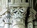 Gournay-en-Bray (76), collégiale St-Hildevert, collatéral nord du chœur, chapiteaux du 1er doubleau, côté sud.jpg