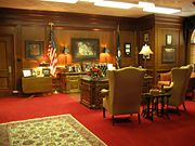 The governor's office.