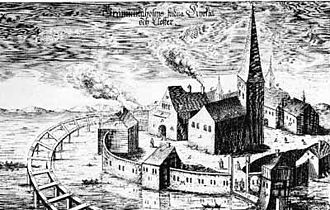 Grey Friar's Abbey, Stockholm - Grey Friar's Abbey, Stockholm, 1524.