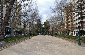 Gran Via del Marqués del Túria de València, final.JPG