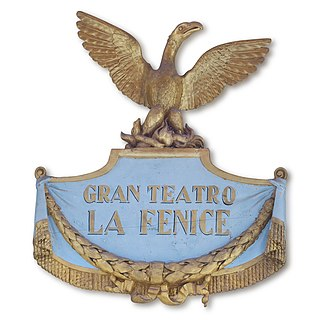La Fenice Opera house in Venice, Italy
