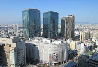 Ōsaka Station - Grand Front Osaka North Gate Building in December 2015