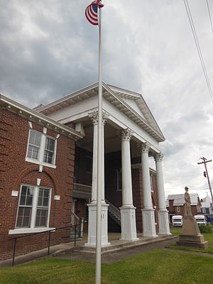 Grant County, West Virginia - Image: Grant County Courthouse, Petersburg, WV