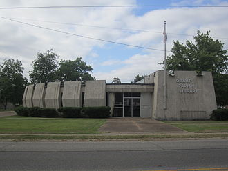Grant Parish, Louisiana - The Grant Parish Library is located near the courthouse.