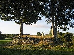 Listooder - Grave stone in Listooder