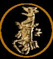 Grb Balše III sa njegovog novca iz Bara.png