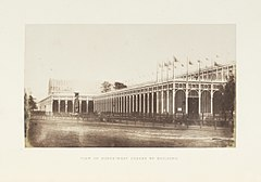 Great Exhibition, NW corner of building, HF Talbot, 1851.jpg