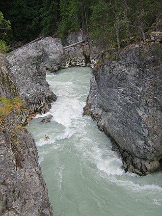 Green River (British Columbia) - Green River just below Nairn Falls