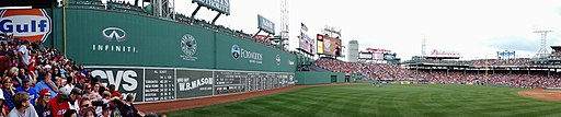 Green Monster Left Field - panoramio