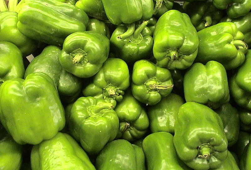 4) Green Peppers