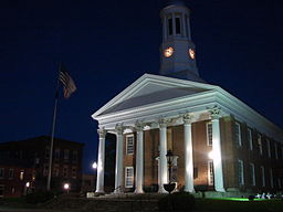 Greene Countys domstolshus i Waynesburg.