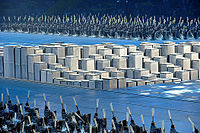 Grey printing blocks during 2008 Summer Olympics opening ceremony.jpg