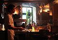 Grill in der Gaststaette Bratwurstherzl in Muenchen .JPG