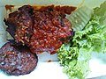 Grilled chicken with hot sambal (Pontianak style).jpg