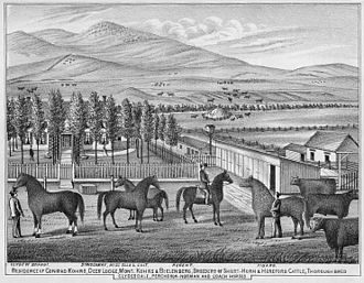 Grant-Kohrs Ranch National Historic Site - Kohrs-Bielenberg ranch, c. 1880