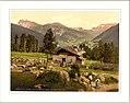 Grodnenthal (i.e. Grödnertal) from Penidsattel Tyrol Austro-Hungary.jpg