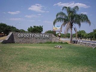 Grootfontein Town in Otjozondjupa Region, Namibia