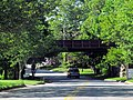 Groton Wharf Branch bridge over Shennecosset Road, Groton, CT.JPG