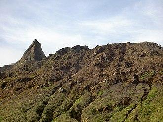 La Grande Soufrière - Image: Guadeloupe 116 Sommet de la Soufrière 1467m Guadeloupe