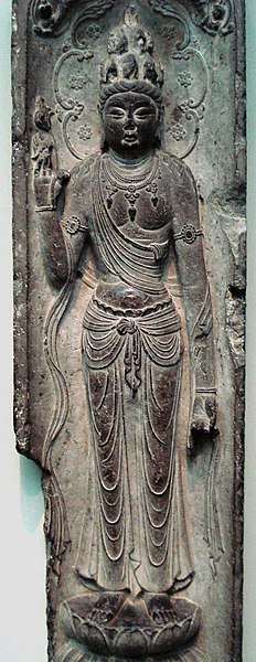 File:Guanyin of Eleven Heads, Tang Dynasty.jpg
