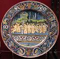 Gubbio, maestro giorgio andreoli, donne al bagno, 6 apr 1525.JPG