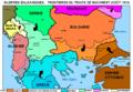 Guerres balkaniques après traité de Bucarest.png