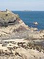 Gulland Rock from Harlyn Bay - geograph.org.uk - 50656.jpg