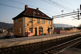 Image illustrative de l'article Gare de Gulskogen