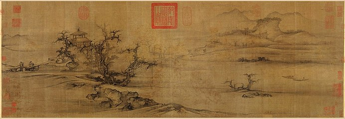 Guo Xi. Old Trees, Level Distance, ca. 1080. Handscroll, 34,9x104,8. Metropolitan Museum of Art N-Y.jpg