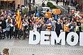Gure Esku Dago kontzentrazioa - Demokrazia - elkartasuna Kataluniarekin - Zarautz - 2017-09-20 - 8.jpg