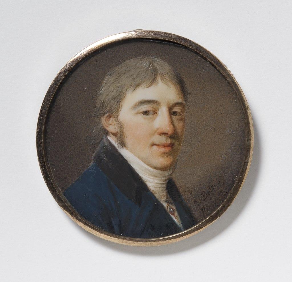 Gustav Küsel (1772-1848), brukspatron (Giovanni Domenico Bossi) - Nationalmuseum - 24821.tif