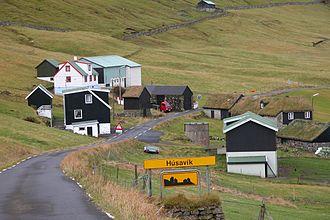 Húsavík, Faroe Islands - Image: Húsavík, Faroe Islands
