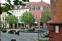 Konrad-Adenauer-Platz in Hünfeld