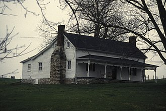 National Register of Historic Places listings in Boyle County, Kentucky - Image: H.P. BOTTOM HOUSE