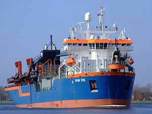 HAM 316 p0 at Nordsea channel, Port of Amsterdam, Holland.JPG