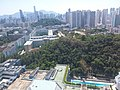 HK 九龍塘 Kln Tong 達之路 Tat Chee Avenue 香港城市大學 HKCityU 劉鳴煒學術樓 Lau Ming Wai Academic Building view Tat Chee Avenue September 2019 SSG 21.jpg