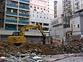 HK 堅尼地城 Kennedy Town 卑路乍街56 Belcher's Street construction site 12-Dec-2011.jpg