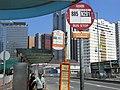 HK Shatin Tai Chung Kiu Road KMB stop 885 N281 signs Long Win Bus A41P Sept-2012.JPG