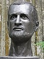 HK Sheung Wan Dr Alexandre Emile Jean Yersin 香港醫學博物館 Hong Kong Museum of Medical Sciences outdoor bust Oct-2010.JPG