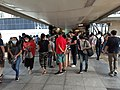 HK WC 灣仔 Wan Chai 柯布連道 O'Brien Street Gloucester Road footbridge near Immigration Tower visitors October 2020 SS2 01.jpg