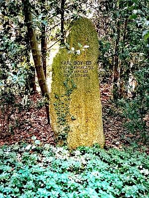 Karl Boy-Ed - Tombstone in Lübeck