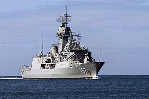 HMAS Perth entering Pearl Harbor in June 2012.jpg