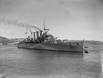 Invasion of Iceland - Image: HMS Berwick (65)