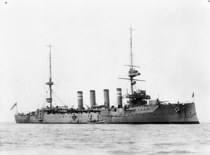 HMS Hampshire (1903) - Image: HMS Hampshire (1903)