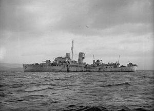 HMS Orchis (K76) - Image: HMS Orchis (K76) IWM FL 4270