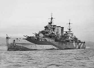 MV Mar Negro - Heavy cruiser HMS Sussex