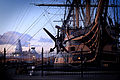 HMS Victory and HMS Dauntless MOD 45151371.jpg