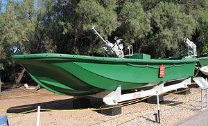 Boghammar - Image: HN speed boat 1